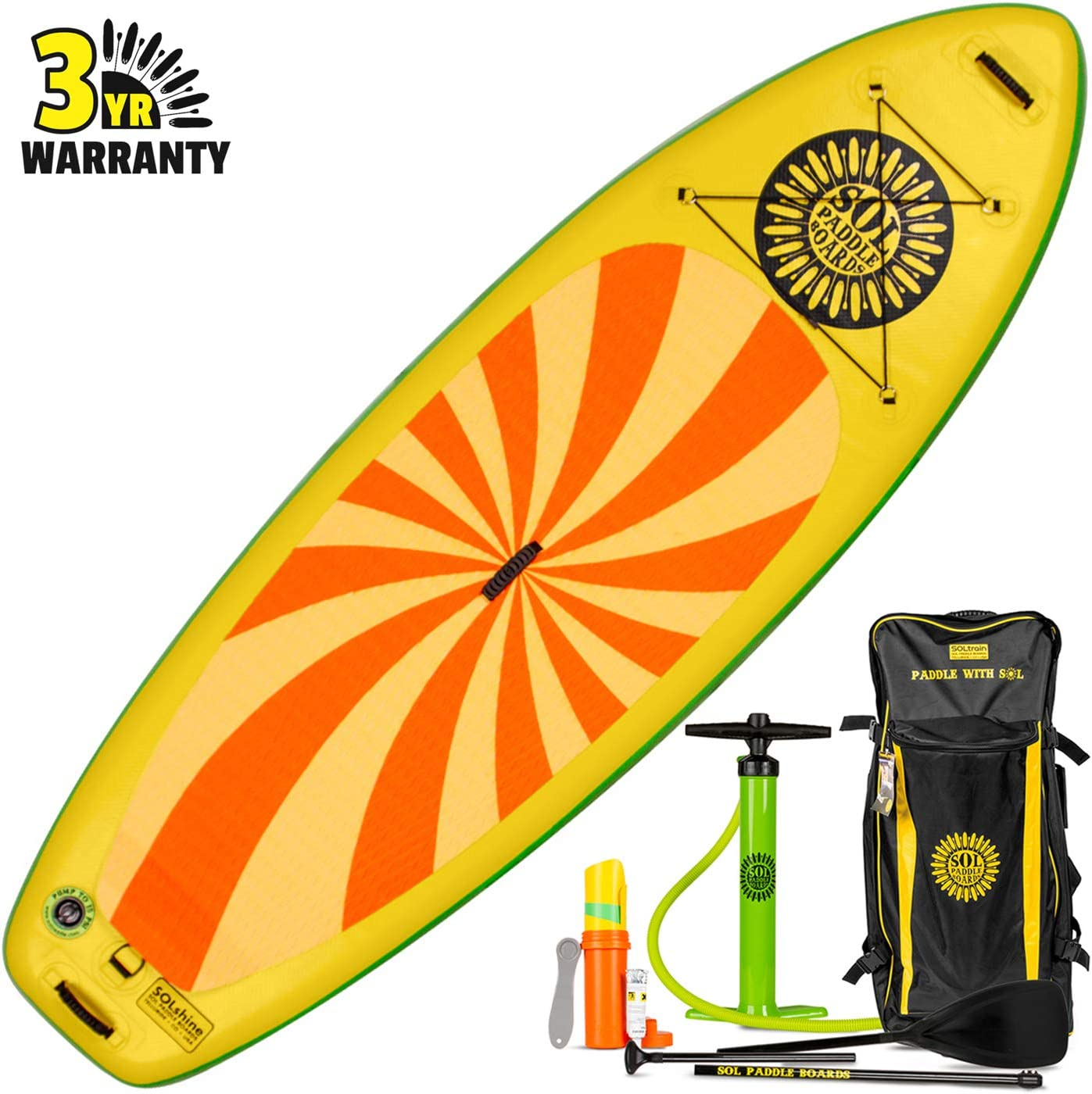 SOL Solshine 9 6 Inflatable Stand-Up Paddleboard
