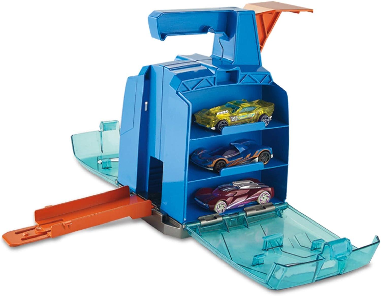 Mattel Hot Wheels-Track Builder Contenedor Lanzador, tramos y ...