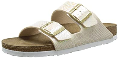 birkenstock arizona white sole
