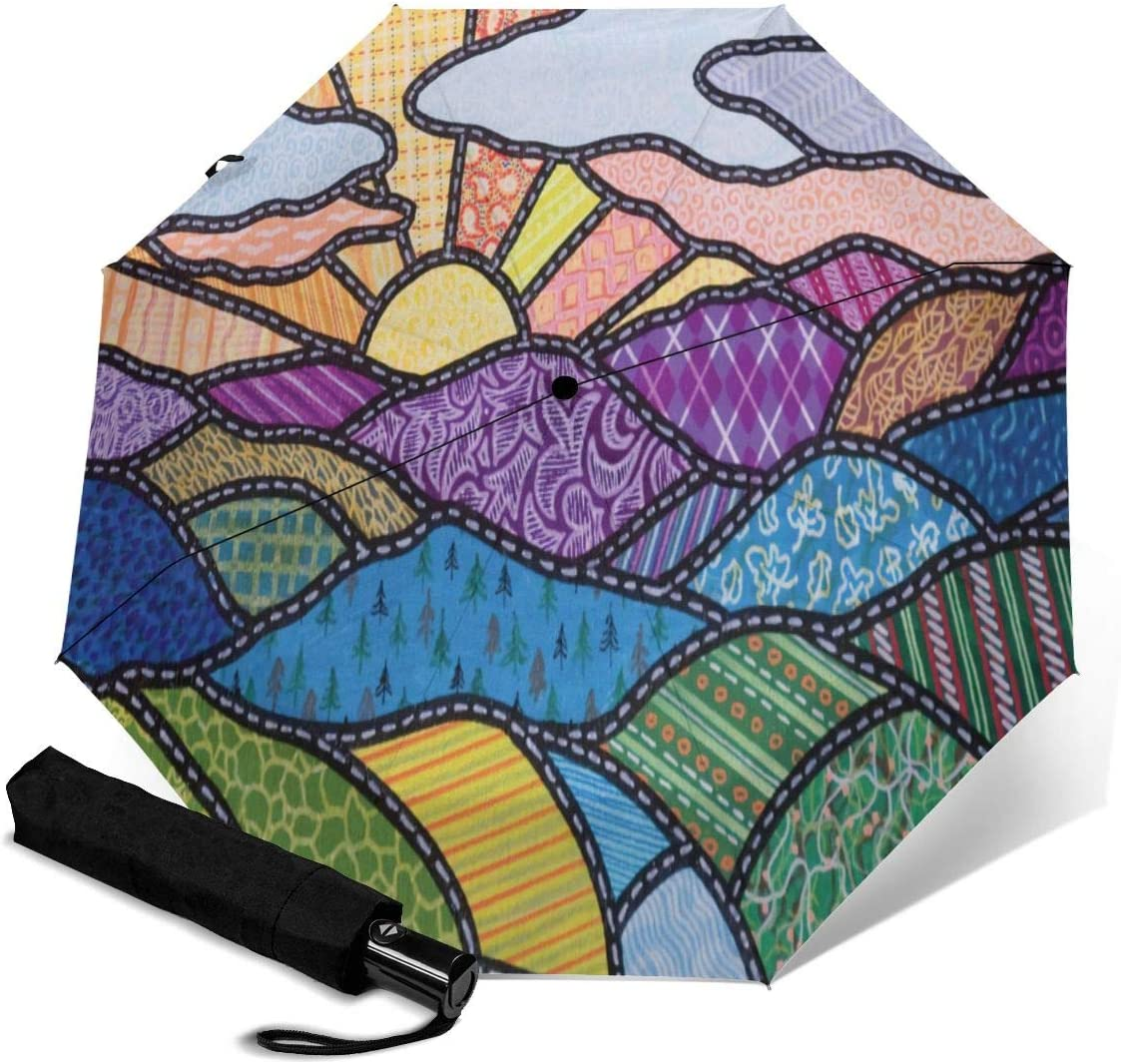 NOT Sturgill Simpson Automatic Tri-fold Umbrella