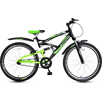 Hero Black & Green Adult Cycle