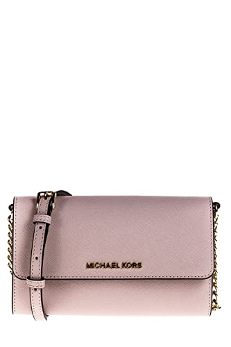 Michael Kors Cross Body Tasche Large Phone Jet Set Travel 32T4GTVC3L Soft pink