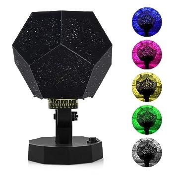 Cosmos Star - Lámpara de proyector decorativa, diseño de estrella ...