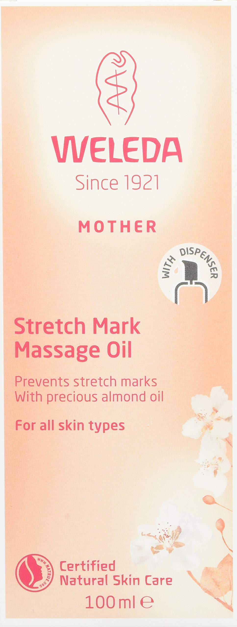 Weleda: Pregnancy Body Oil for Stretch Marks, 3.4 Fl Oz (Pack of 1) by Weleda