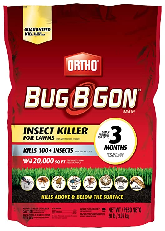 Amazon.com: Ortho Bug B Gon Insect Killer for Lawns3, 20 LB ...