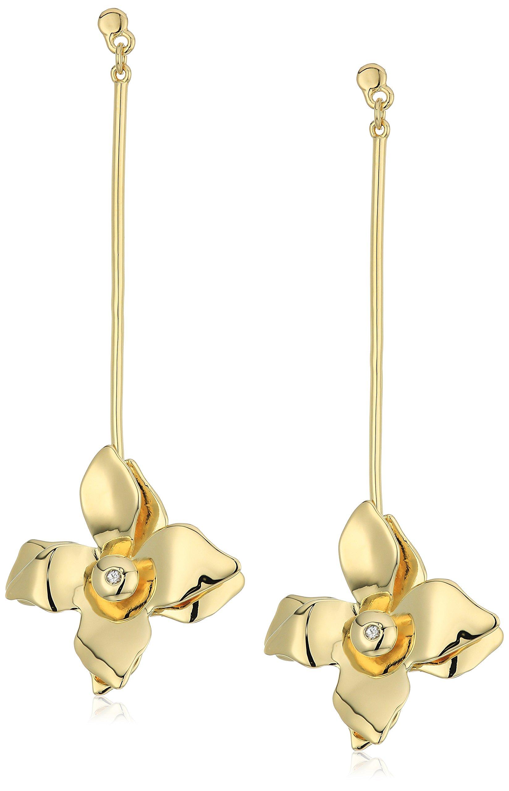 Elizabeth And James Halona Drop Earring, Gold