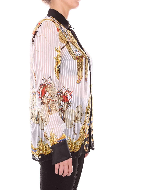 Fantasia Camicia Versace Amazon A79153a225761 it 40 Donna qw0xFAR