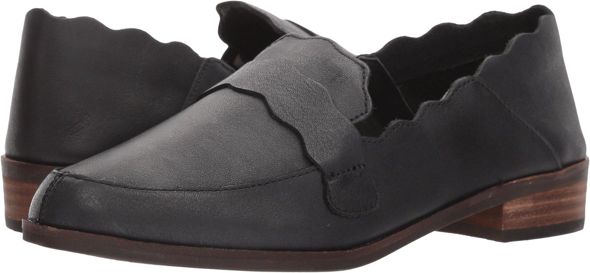 Lucky Brand Women's Callister Loafer, Black, 7.5 Medium US