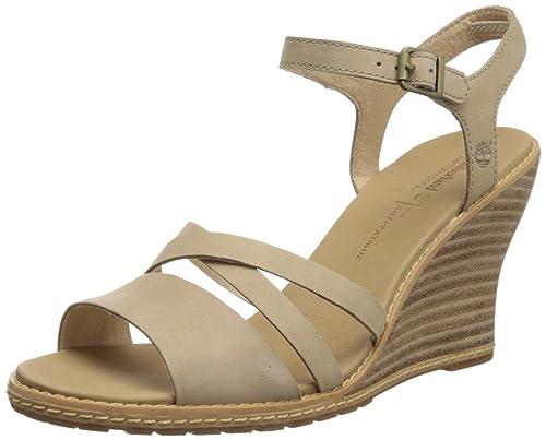 Mujer Fashion Maeslin Timberland Ek Ankle Cuero Strap Sandalias De x8ZA1qZ