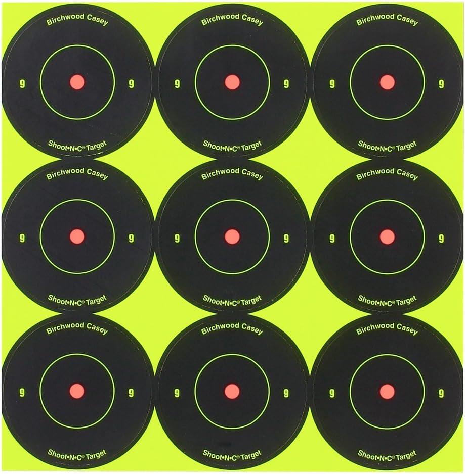 Birchwood Casey Shoot-nc Pack 2 dianas redondas pulgadas 34210 108 por paquete