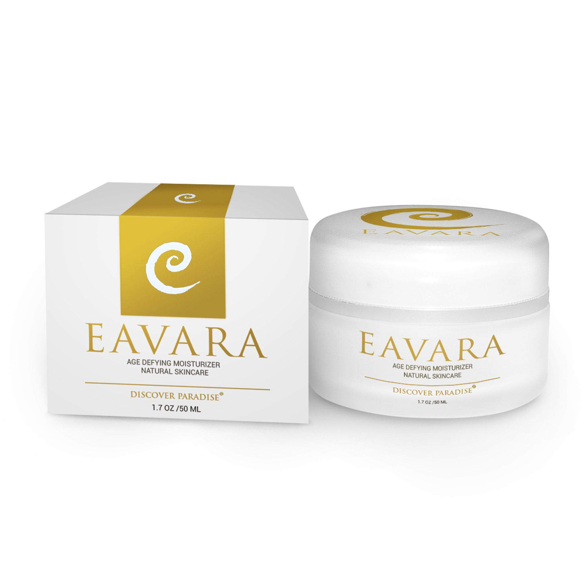 Anti Wrinkle, Anti Aging Daily Moisturizer Cream For Women And Men | Natural Organic Wrinkle Firming Skin Care | Hyaluronic Acid | Organic Kukui Oil and Shea Butter | No Parabens or Sulfates by Eavara