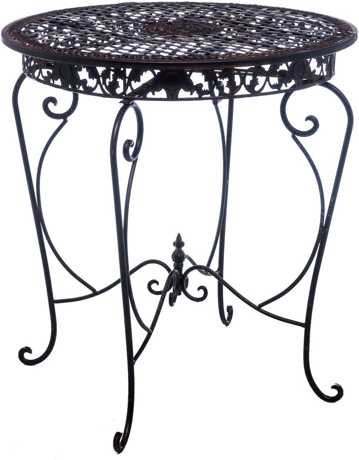 Mesa de jardín Mesa de jardín Mesa de Bar Hierro Antiguo Estilo de Muebles de: Amazon.es: Jardín
