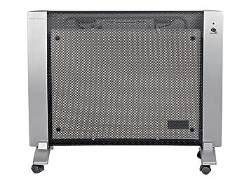 Alpatec PRMDT 1000 - Radiador por panel radiante, de pared o con ruedas, 1000
