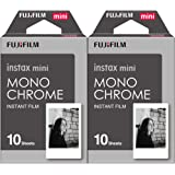 Fujifilm Instax Mini Film Monochrome 2-Pack (20 B&W Exposures)