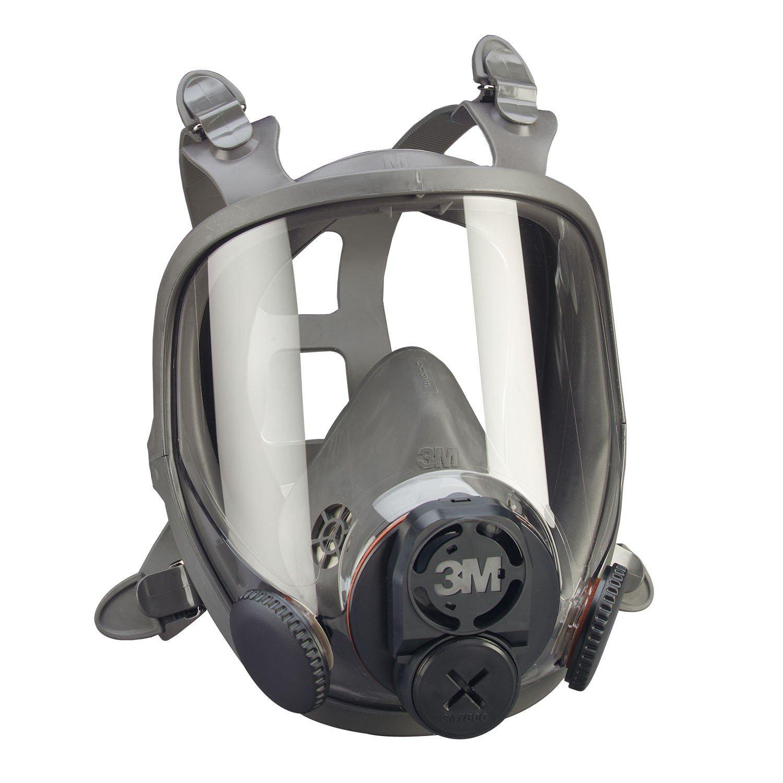 Full Face Respirator, M, 6000 Series