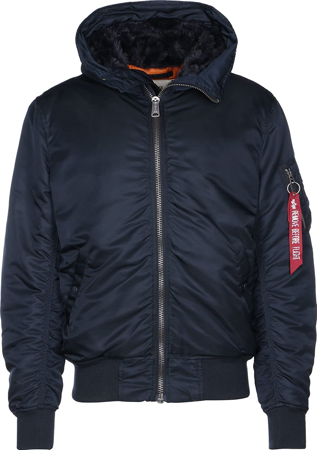 TALLA 3XL. Alpha Industries Jacket MA-1 Hooded w.o. fur