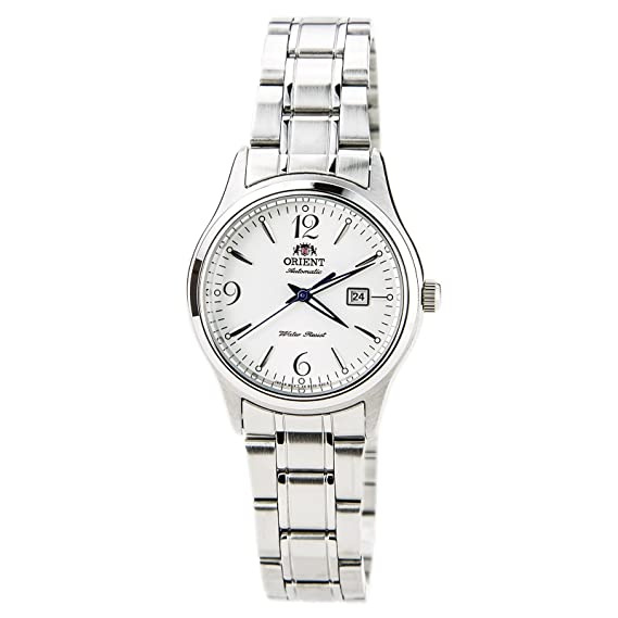 Orient Ori-4668 - Reloj de pulsera mujer, acero inoxidable, color plateado: Amazon.es: Relojes
