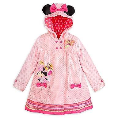 3149320ec Amazon.com: Disney Store Minnie Mouse Clubhouse Rain Jacket/Raincoat Size  Medium 7/8: Clothing