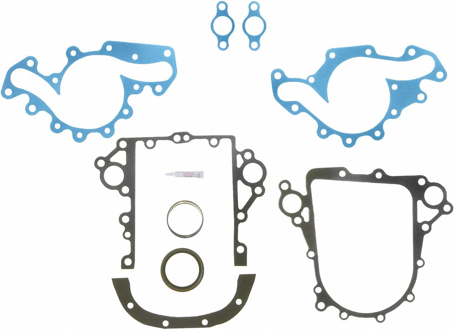Fel-Pro TCS 45686 Timing Cover Gasket Set with Repair Sleeve
