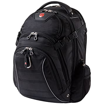 Swiss Gear Rainproof Backpack can accommodate most 15.6 to 17.3 ...