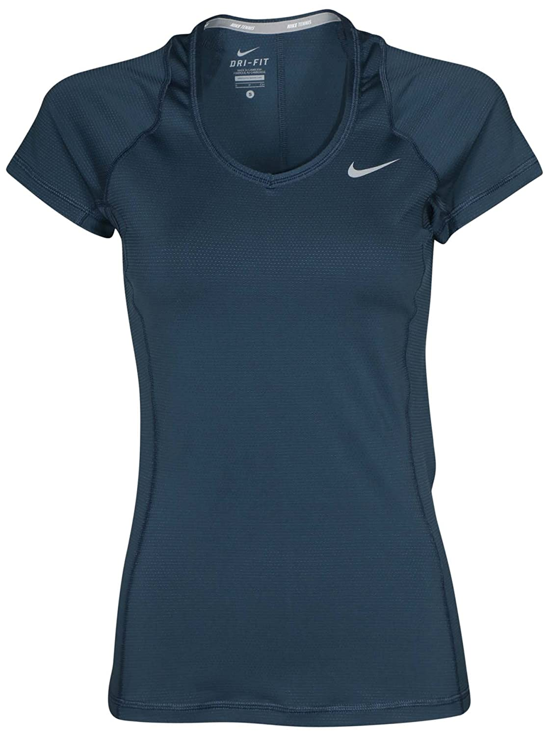 Nike Women's Dri-Fit Novelty Knit Tennis Top