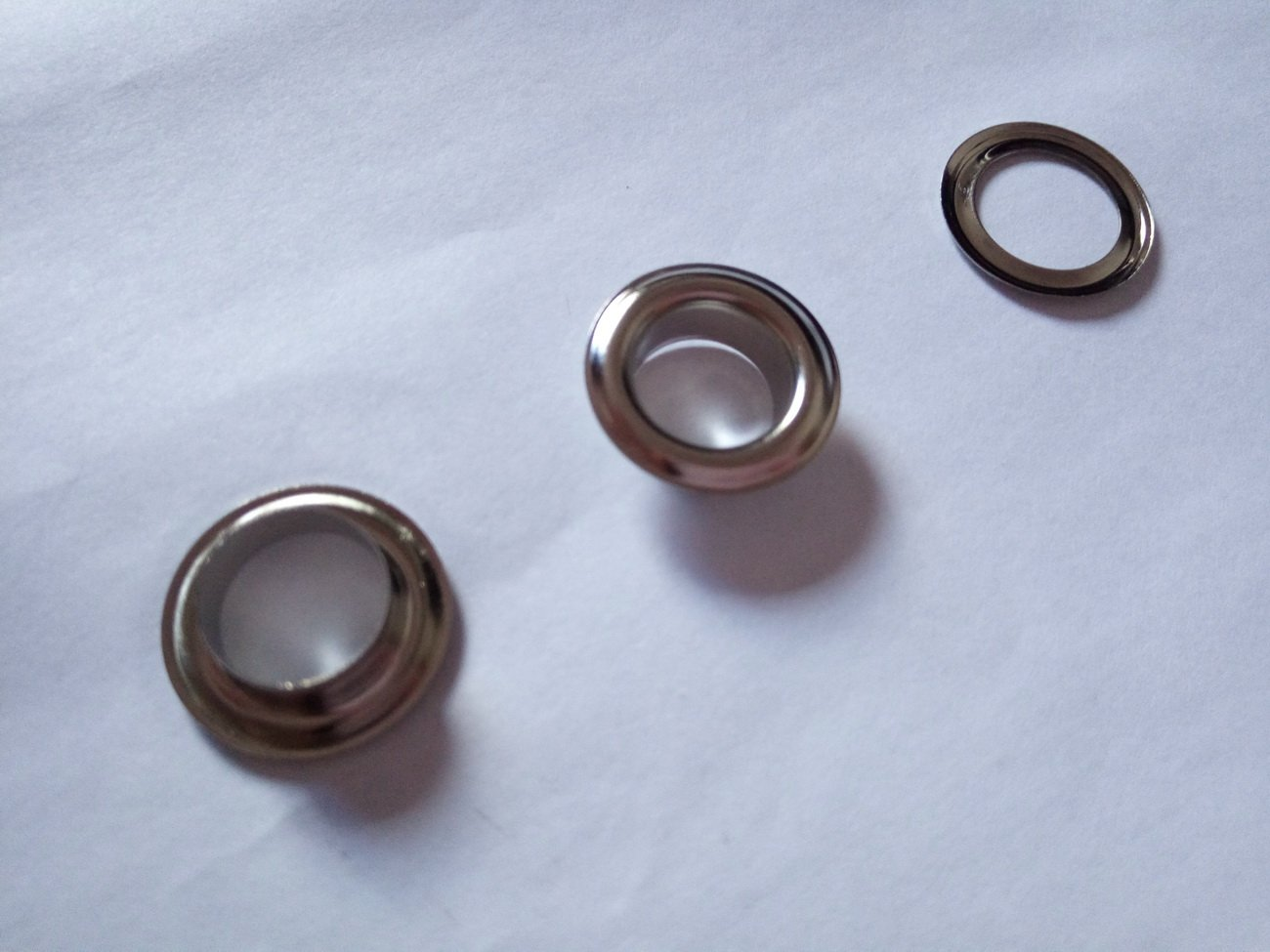 Inton Solid Brass Grommets Eyelets 100 Pack (3/8