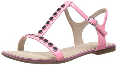 a58e5ce637a8ec Clarks Womens Smart Clarks Sail Festival Synthetic Sandals In Pink Patent  Standard Fit Size 3.5