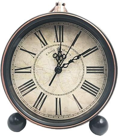 Wifehelper Silencieux Doux R/éveil R/éveil Enfants R/éveil Horloge Minuterie Horloge Num/érique Horloge De Bureau Horloge pour La Maison et Le Bureau