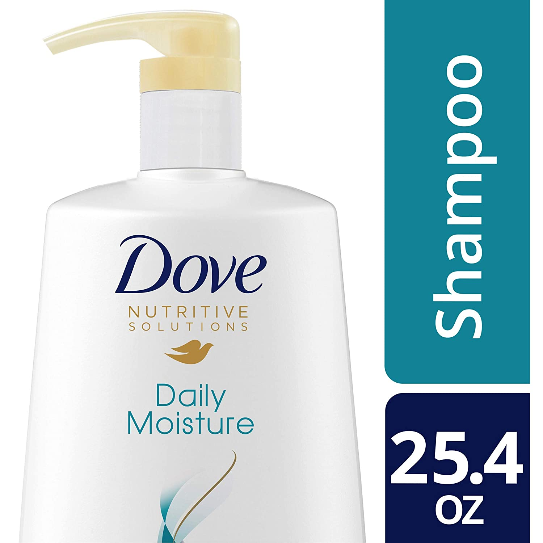 DOVE HAIR Nutritive Solutions Daily Moisture Shampoo With Pump, 25.4 Ounce