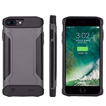 605d9219de3d80 Ultra-thin Rugged Battery Charging Case For Iphone 6plus 6splus 7plus  8plus(5.5inch