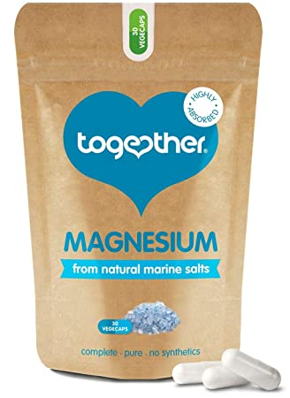 Together Health - Magnesio Marino, 1x 30 Cápsulas: Amazon.es: Salud y cuidado personal