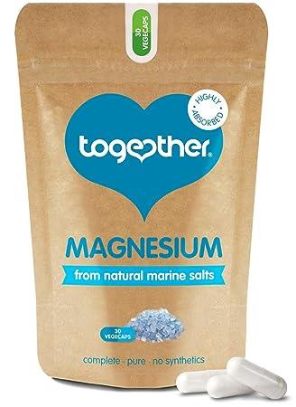 Together Health - Magnesio Marino, 1x 30 Cápsulas: Amazon.es: Salud y cuidado personal