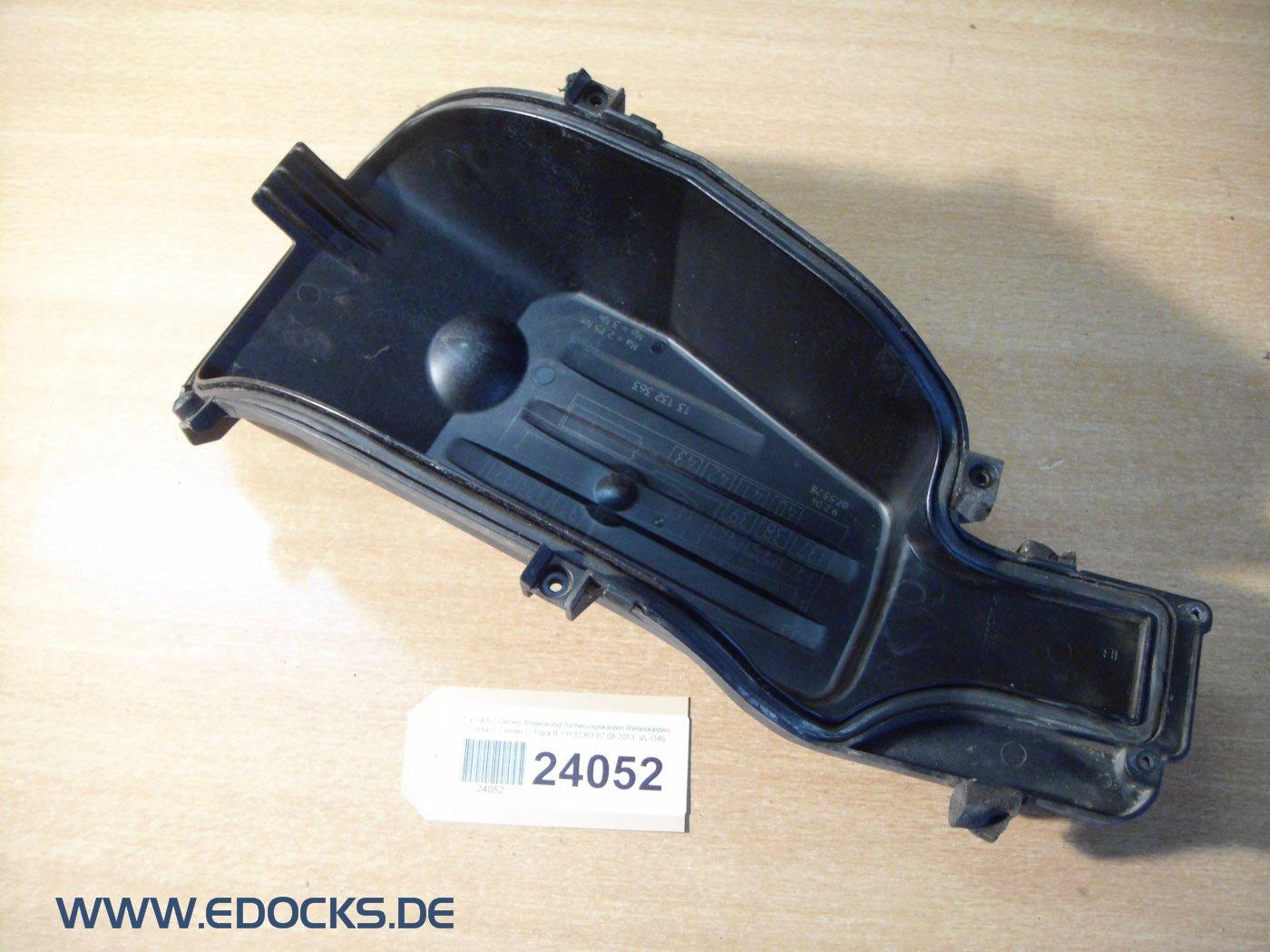Fuse Box with Lid Cover Relaiskasten C Combo / Corsa C (Opel) Tigra B:  Amazon.co.uk: Car & Motorbike