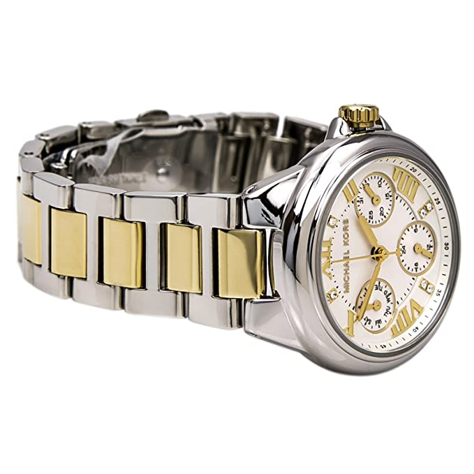 Amazon.com: Michael Kors Camille Silver-Tone Multifunction Watch: Michael Kors: Watches