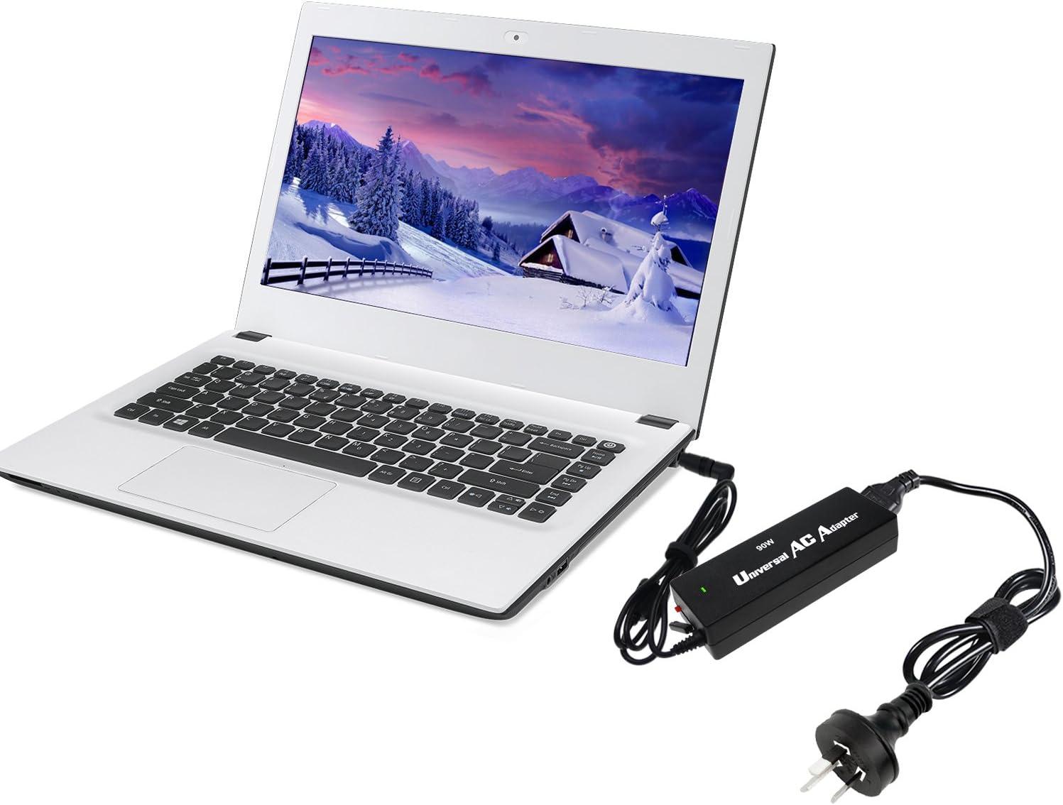 Notebook Laptop Caricabatterie Alimentatore 19v 4.74a 90w per Acer Aspire 1350