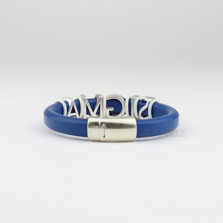 Phi Beta Sigma leather bracelet Prophyte RB