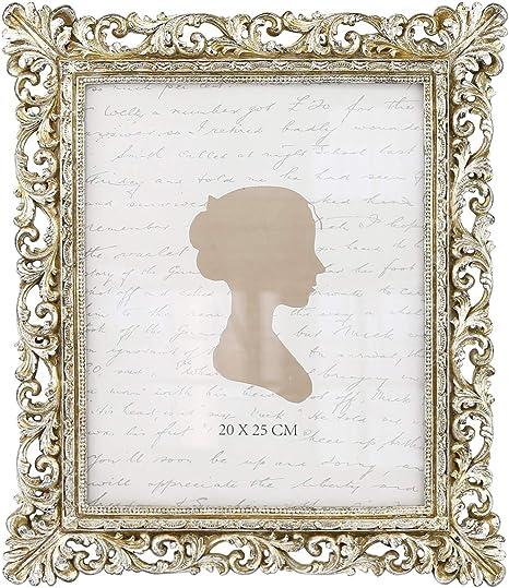 2 8x10 Metal Frames Vintage Fancy Filigree Frames  Free Standing or Hanging  Wedding Items Frame # 7
