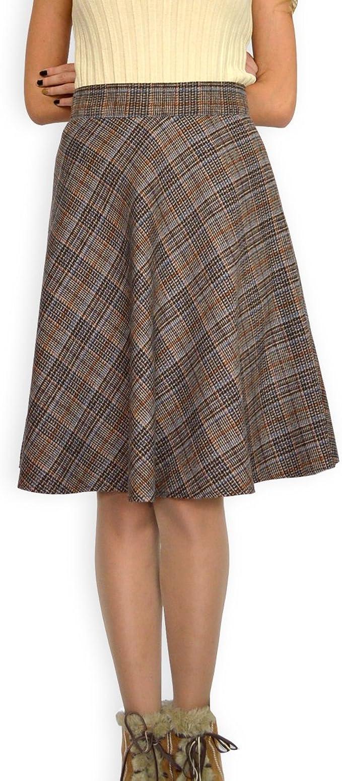 Souvenir-Fashion - Falda - Triángulo - para mujer marrón 46 ...