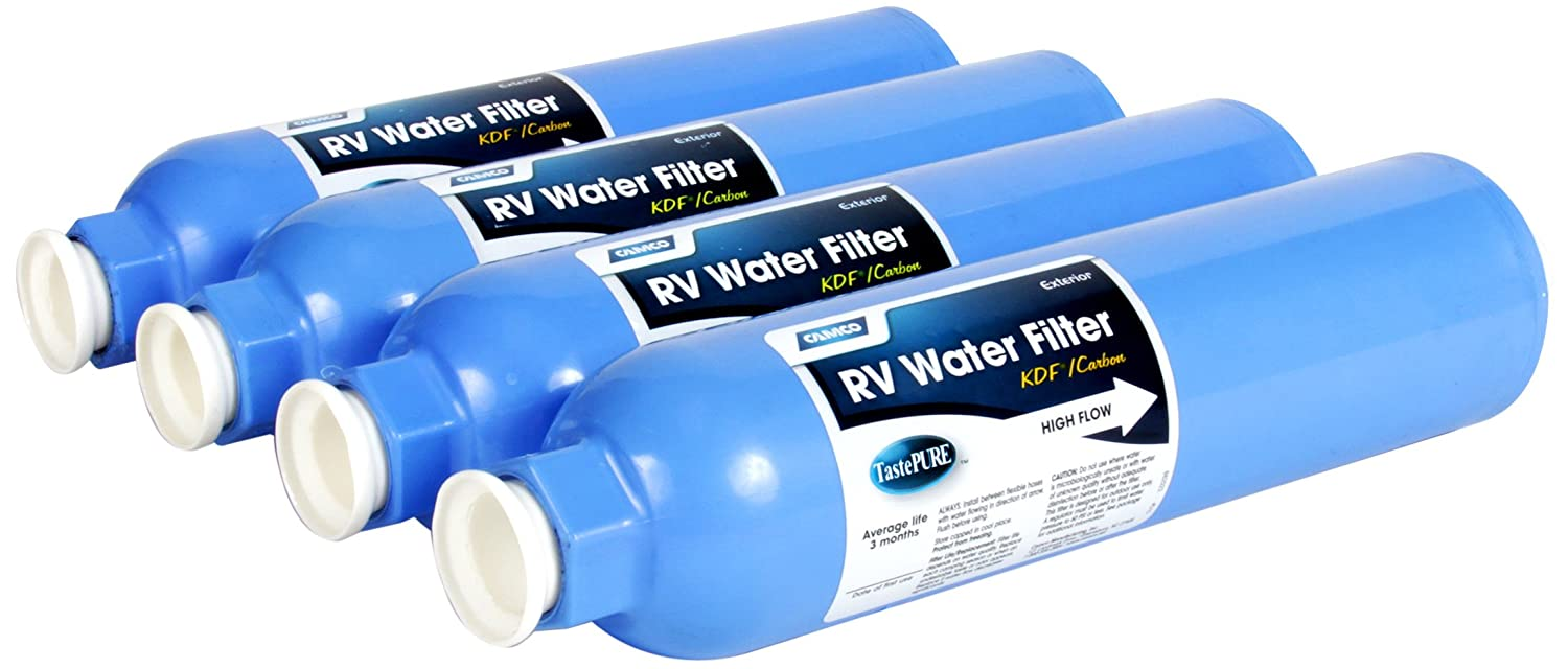Camco Large In-Line Exterior Carbon Water Filter