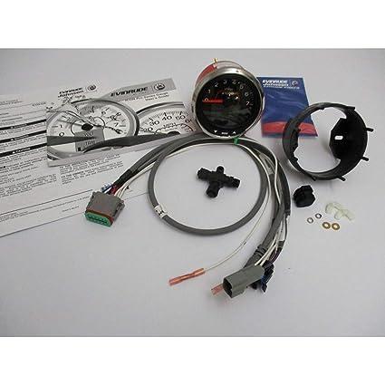 Amazon com: Evinrude Etec New Icon Tach Pro Tachometer Kit 4