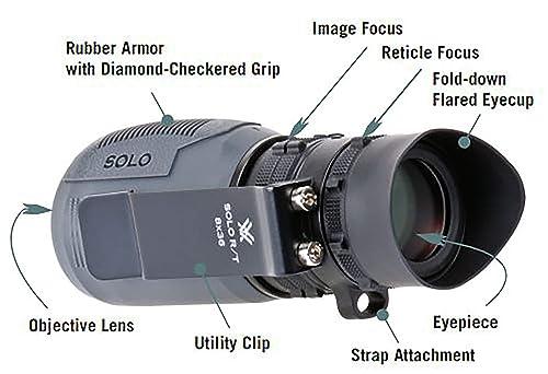 Vortex Optics Solo R/T 8x36 Monocular Details