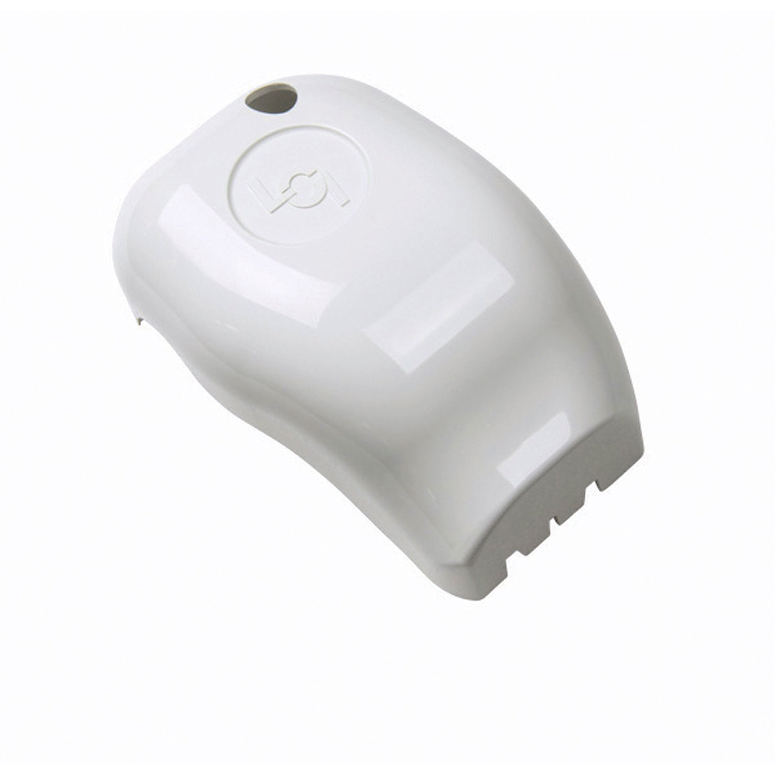 Solera 289557 Power and Manual Awning Plain Drive Head Front Cover, White by Solera
