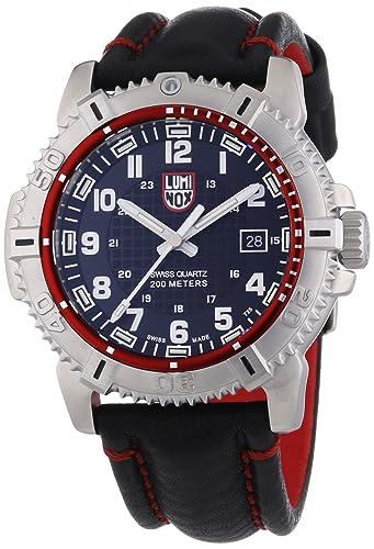 Luminox 09LX6265 - Reloj para hombres, correa de cuero color negro: Amazon.es: Relojes