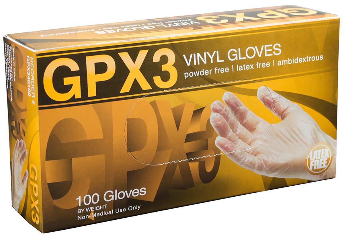 Vinyl Disposable Gloves 100ct.