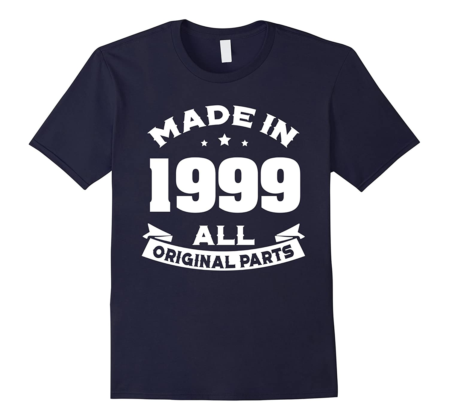 18th Birthday T-shirt 18 Years Old Gift Tee Made in 1999-Art