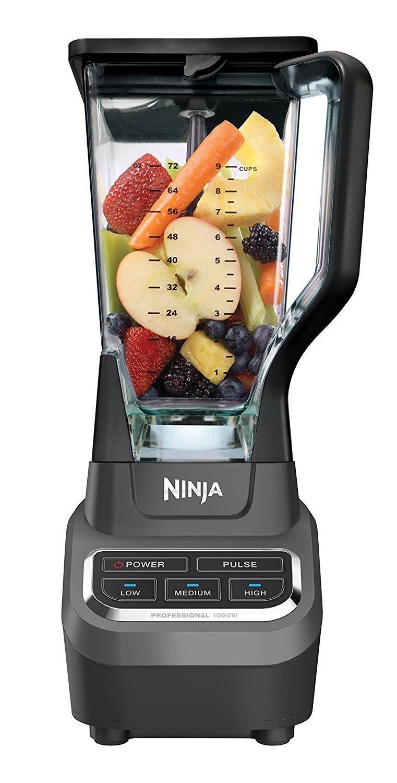 Ninja 1000 Watts Professional Blender, Silver/Black (Certified Refurbished) by SharkNinja