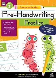 Carson Dellosa | Trace with Me: Pre-Handwriting Practice Activity Book | Grades Preschool-2, Printable