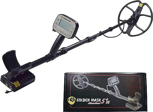 golden mask 5+ SE Detector de Metales de Platino: Amazon.es: Jardín
