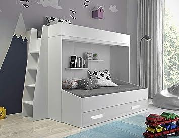 Etagenbett Kinder Weiß : Doppelstockbett kinder ikea etagenbett
