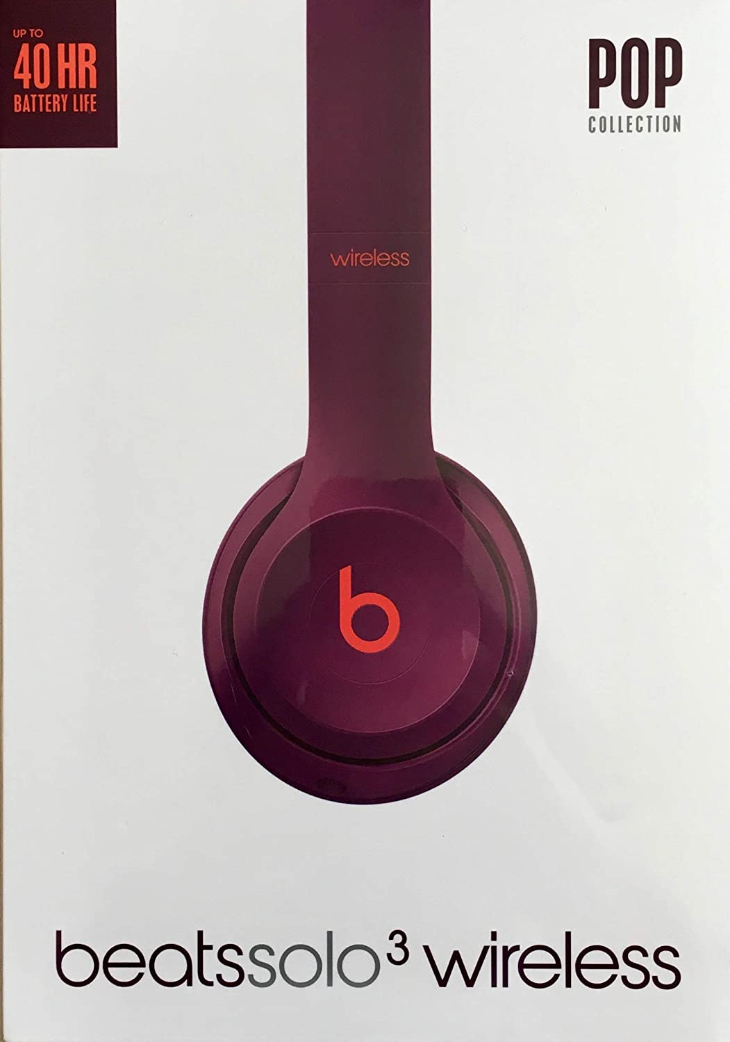 Auriculares Beats Solo3 Wireless - Pop Collection de Beats - magenta pop: Apple: Amazon.es